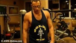 "[2011] Jean-Claude Van Damme (51 years) - Training #1 ""The Expendables 2"" ������� �������� ������ ���������"