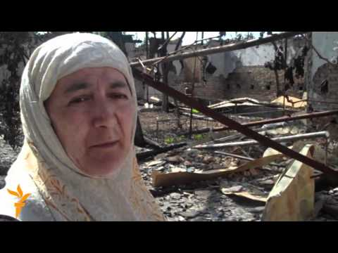 Kyrgyzstan -- Osh tragedy aftermath: Pt 1. Uzbek women's stories by Azattyk ?nalgysy (26-June-2010)